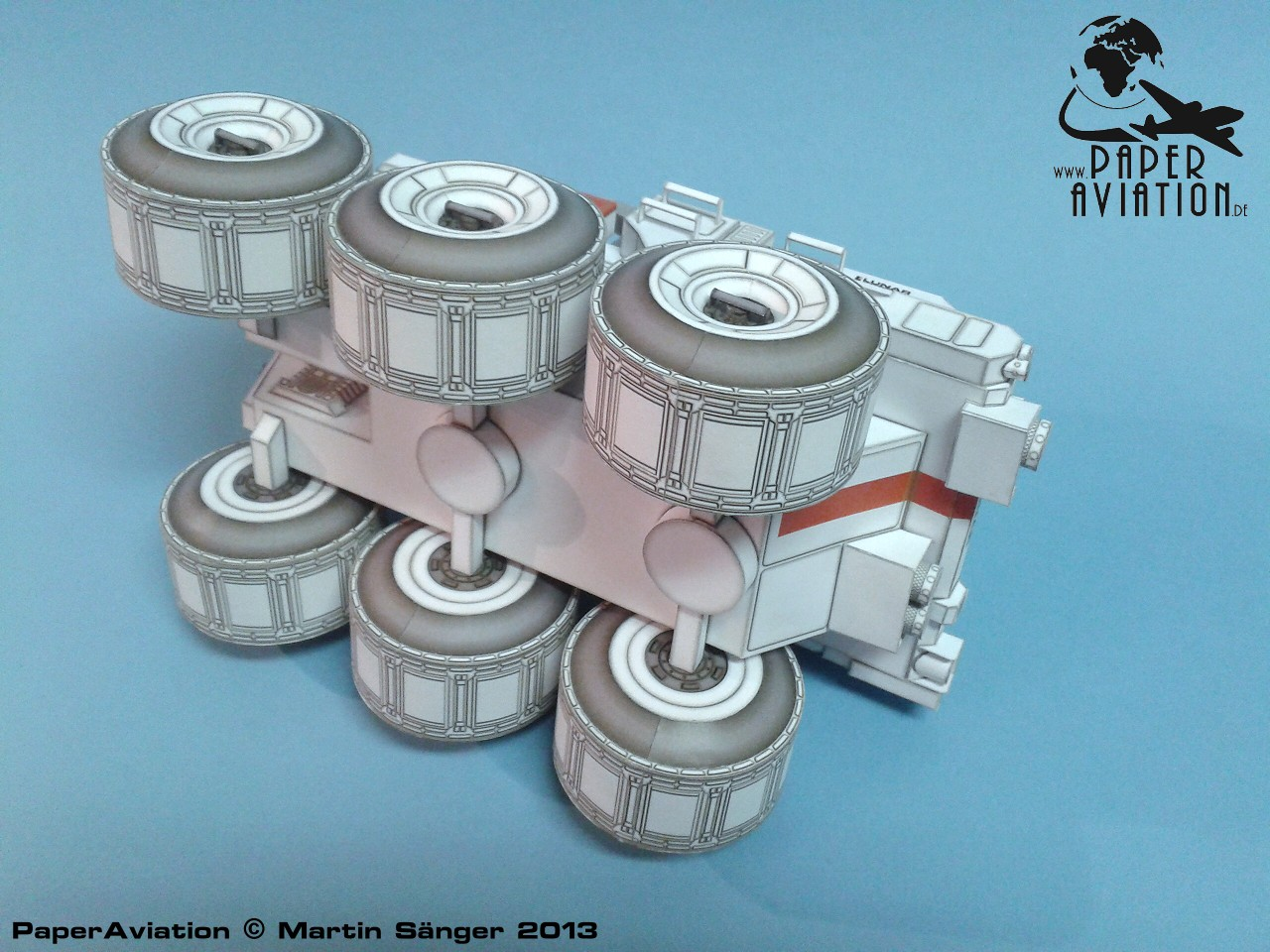 Cardboard Moon Rover (page 3) - Pics about space
